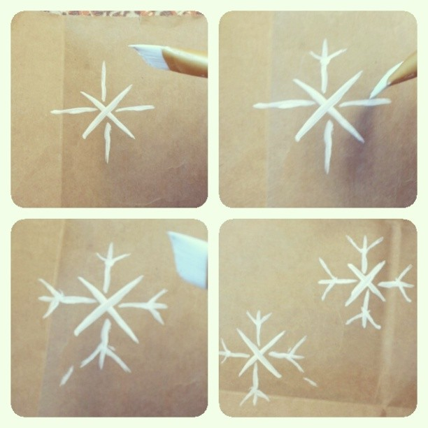 Snowflake Pattern Step 5 - 6