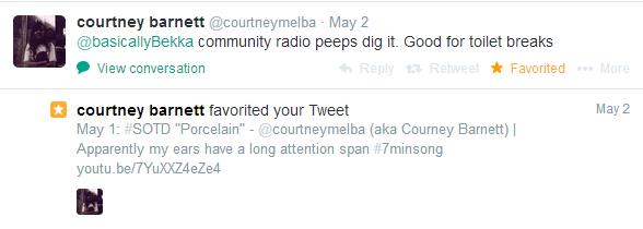 courtney barnett twitter