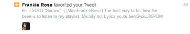 frankie rose playlist mood