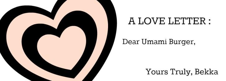 love letter to umami