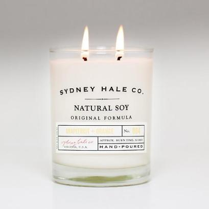 sydney hale candle grapefruit and orange