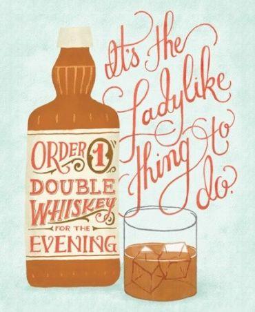 whiskey bottle Mary Kate McDevitt
