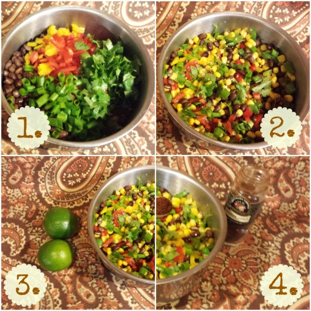 steps for a southwest quinoa salad