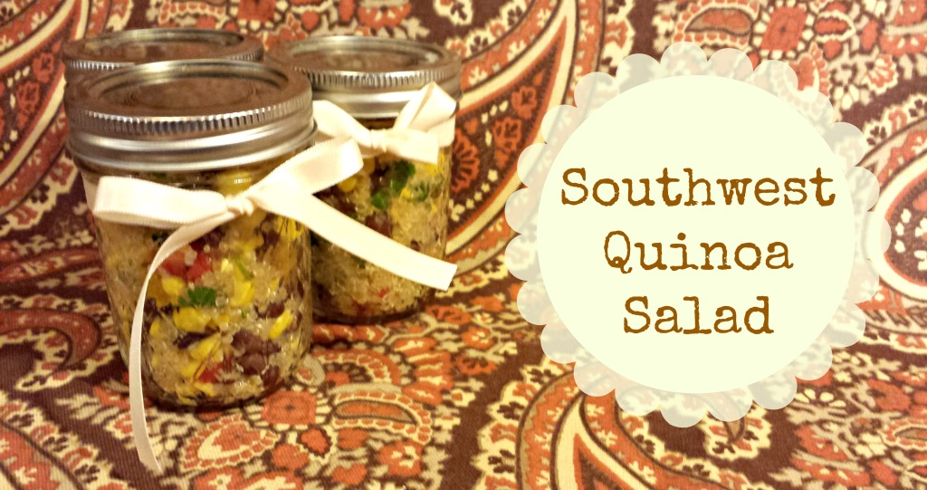 easy picnic food southwest quinoa salad
