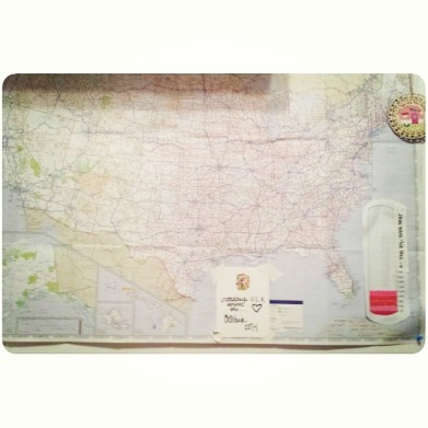 following your dream road trip map