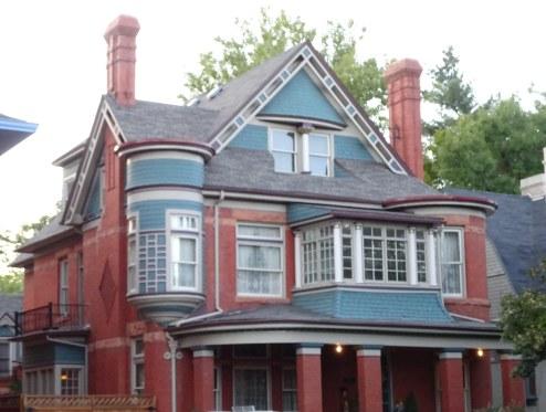 victorian home in Denver