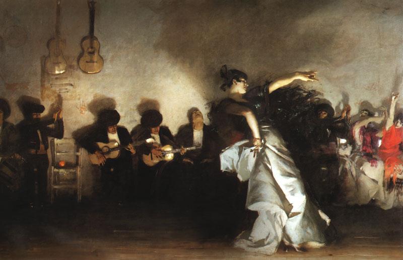 El Jaleo John Singer Sargent  Painting