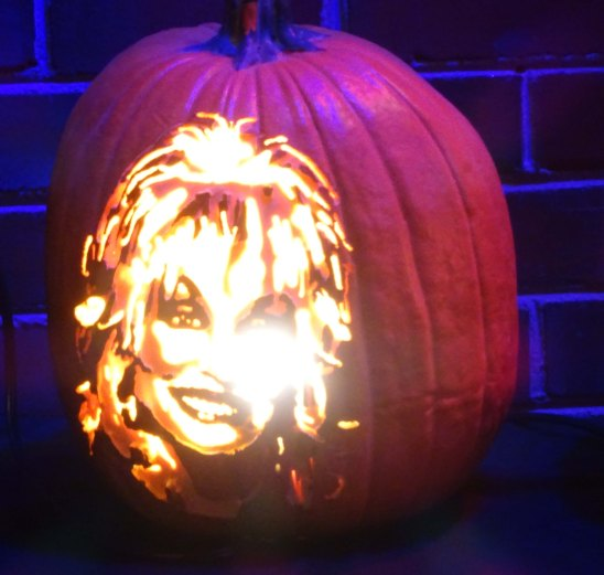 Dolly Parton Pumpkin