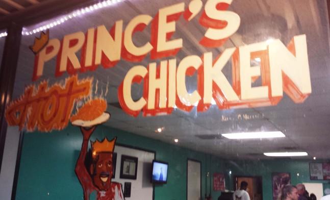 Prince's Hot Chicken Nashville TN