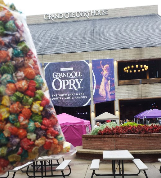 Rainbow Popcorn and Grand Ol' Opry