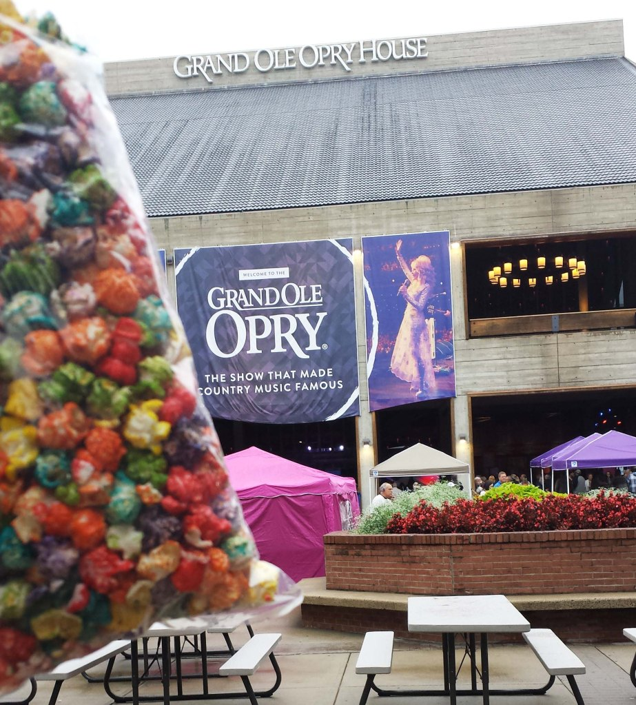 Rainbow Popcorn and Grand Ol' Opry
