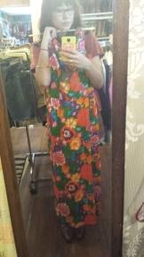 Vintage Floral Dress at Flashback Vintage in Austin