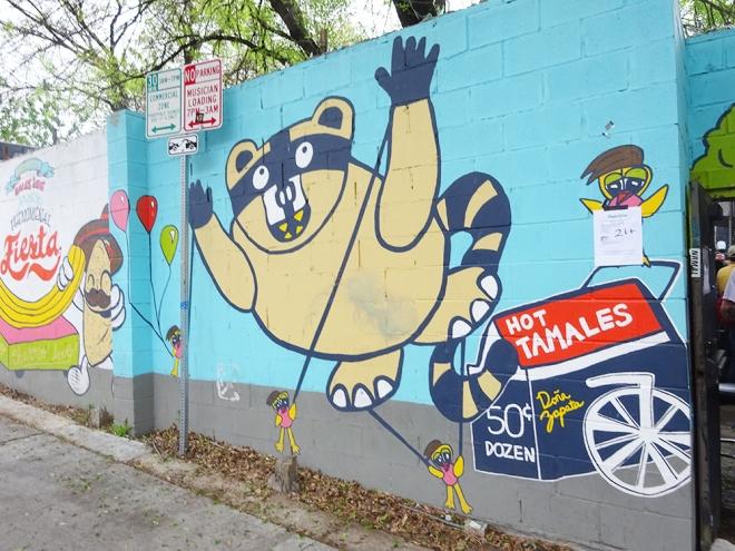 Racoon Mural